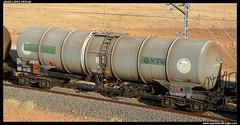 Zacs/PRR de VTG (javier-lopez) Tags: train tren trenes railway prr vagón cisterna puertollano refinería adif zacs ffcc combustible cisternas vtg mercancías gasóleo bioetanol benceno etbe tarragonapuerto puertollanorefinería 16072014