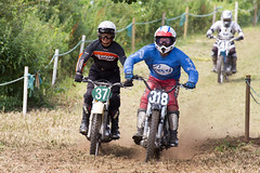 Pre 65 Club Scrambling Gosfield 2014 (mattbeee) Tags: england car bike club race vintage unitedkingdom racing motorbike pre motorcycle 37 motocross mx essex scam 318 motorsport scramble motox motorcross scrambling halstead gosfield pre65