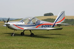 G-CFRT (johnmorris13) Tags: comptonabbas ev97 egha cosmikaviation gcfrt