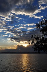 a pleasant view (Ruby Augusto) Tags: sunset sky bay branches pôrdosol cacupésc