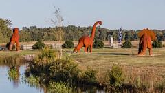 Jerrassic Park, Pungo VA (4myrrh1) Tags: canon rebel virginia dinosaur va t3i pungo