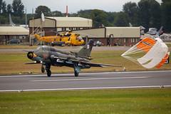 SU22 Fitter (Bernie Condon) Tags: tattoo plane flying fighter aircraft aviation military attack jet poland polish strike bomber warplane fairford paf 2014 riat fitter airtattoo su22
