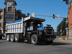 DSCF8410 (gdmey) Tags: transportation trucks brockway huskie vintagetruck truckshow brockwaytruck