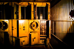 An old bank vault (Doctor Christopher) Tags: quirky quirkyphotography
