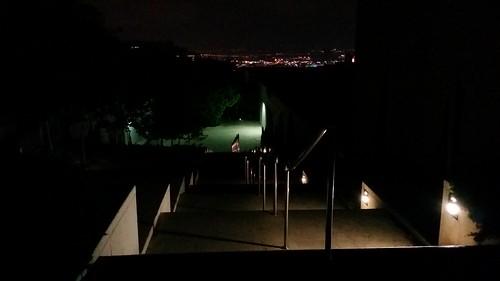 Technion at Night - Benjamin's Architecture & Town Planning Faculty (Haifa, Israel)