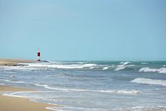 Natal '14 (11) (Raphael R. Pais) Tags: ocean sky lighthouse beach nature brasil natal landscape north farol beacon norte rn riograndedonorte