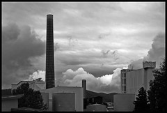 L'Usine  Rves??? (LitterART) Tags: weather clouds fabrik wolken fujifilm lusine usine wetter tristesse bonjourtristesse sappi xseries papierfabrik gratkorn sappiaustria lusinerves