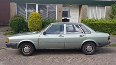 Audi 80 4-Door 1.8 GL (sjoerd.wijsman) Tags: auto holland cars netherlands car sedan nederland thenetherlands delft voiture vehicle holanda autos audi 80 saloon paysbas berline olanda fahrzeug niederlande zuidholland audi80 acar carspotting berlina carspot stufenheck sidecode4 kz15lf