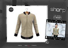 "sharp by [ZD] - ""Sami"" Sweater Jacket (shine & sharp by [ZD]) Tags: life urban man male men fashion by demo sweater cool shine dress place mesh market sharp sl jacket dresses second mann marketplace mp mode mnner jacke sami kleidung menswear kleid mnnlich zd inworld zddesign"