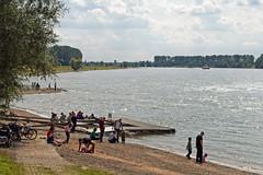Rhein bei Benrath 4 (KL57Foto) Tags: germany deutschland nrw fluss dsseldorf rhine rhein strom rheinland rhineland rheinufer 2014 benrath urdenbach landeshauptstadt kl57foto