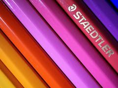 Pride of the Pencilcase (Ben Wightman) Tags: macro pencils backtoschool staedtler colouredpencils watercolourpencils macromondays
