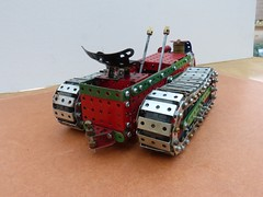 Ransomes MG crawler tractor  3 (Elsie esq.) Tags: model meccano crawler mg2 ransomes
