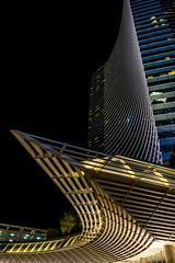 Vdara (damneardone) Tags: las vegas lines architecture night nikon casino strip d7100 vdara