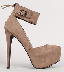"suede-buckle-cuff-almond-toeplatform-pump-taupe • <a style=""font-size:0.8em;"" href=""http://www.flickr.com/photos/64360322@N06/15095653350/"" target=""_blank"">View on Flickr</a>"