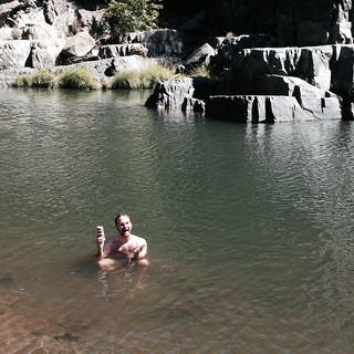 Trent Takes a Dip