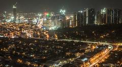 Metro Manila (PhotosThroughMyEyes) Tags: city longexposure lights cityscape nightscape philippines manila lighttrails makati metromanila