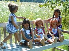 Kindergartenkinder ... (Kindergartenkinder) Tags: park dolls schloss annette kindra tivi milina anholt setina himstedt schlossanholt kindergartenkinder sanrike