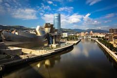 ESTUARY OF BILBAO (Rober1000x) Tags: summer tower museum architecture arquitectura europa europe bilbao verano guggenheim museo bilbo basquecountry paisvasco paysbasque 2014 riabilbao euskadia