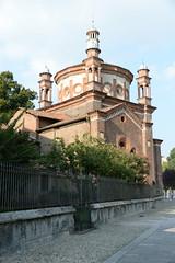 milano domenica (pineider) Tags: sky italy milan church nikon italia milano september chiesa ciel cielo d4 chiesaiglesiachurch