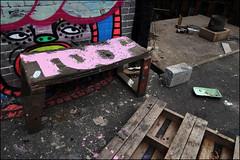 Toof (Alex Ellison) Tags: urban graffiti boobs graff mlc northlondon sweettoof