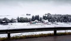 107 Shopping Days Left (John A. McCrae) Tags: snow canada rural farm alberta snowfall snowscene albertabound evansburg pembinariver