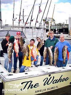 group fishing charters Amelia Island FL