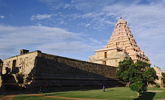 The majestic Ganhaikonda Cholapuram temple (me suprakash) Tags: india tamilnadu gangaikondacholapuram cholatemple tamilnadutemple nikond700 cholaarchitecture heritagetemple