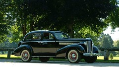 1938 Buick Special model 41 (ssx213) Tags: black sedan buick whitewalls 1938 special