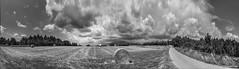 Panorama tempesta a la muntanya 01 (Fernando Laq) Tags: nubes tormenta tempesta montseny nubols hostalric