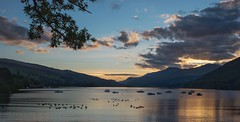 Kenmore Sunset (Photeelover) Tags: kenmore sunset dusk scotland automn loch tay lochtay landscape
