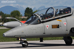 Aermacchi MB-339CD 61-150, Aeronautica Militare Italiana (Latus10) Tags: 55anniversariofreccetricolori rivolto lipi friuliveneziagiulia aeronauticamilitareitaliana ami aermacchimb339 mb339cd 61150 61stormo formazionelegend