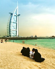 Burj Al Arab (letkata) Tags: architecure beach unitedarabemirates uae mydubai dubai jumeriah jumeriahbeach burjalarab