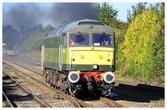 0Z47 (elr37418) Tags: bamber bridge 47830 appleby uk england lancashire nikon d7000 freightliner brush two tone green