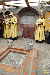 70. The Laying of the Foundation Stone of the Church of Saints Cyril and Methodius / Закладка храма святых Мефодия и Кирилла 09.10.2016