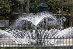 2016.10.09.02 PARIS - Place Ed. Rostand,  fontaine du bassin Soufflot (alainmichot93 (Bonjour  tous)) Tags: 2016 france ledefrance seine paris fontaine jetdeau eau