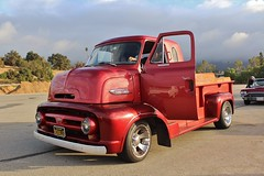 Road Kings Car Show 2016 (USautos98) Tags: ford c600 coe cabover truck hotrod streetrod custom