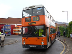 Preserved GM Buses 4706 (A706LNC) 15102016b (Rossendalian2013) Tags: preserved bus manchester greatermanchestertransport greatermanchesterpte gmpte gmbuses gmbusessouth leyland atlantean an68 northerncounties a706lnc