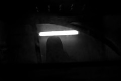She is there (Alexandre Dulaunoy) Tags: dead death darkness bw noiretblanc noirblanc lowkey nb sombre mort lamort faux faulx scythe selfportrait
