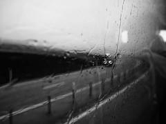 Ringroad Monster (Feldore) Tags: rain rainy road driving window screen wet car lights headlights iceland icelandic weather feldore mchugh em1 olympus 1240mm raining abstract