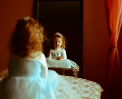 . (Katarina Kosanovic) Tags: girl princess mirror story child