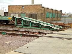 Ramp Left (Milwaukee beerNut) Tags: up wi racine cnw 605 mow maintenance trackwork relay