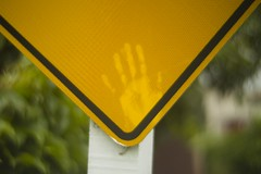 Hand (Arapaoa Moffat Photography) Tags: swirly xrrikenon1255mm paekakariki details dof depth field signs vintagelens hand sign