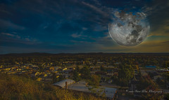 Harvest Moon over Pacific,MO (wdwSteve) Tags: d750 pacific missouri mo