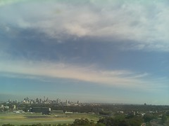 Sydney 2016 Oct 21 08:43 (ccrc_weather) Tags: ccrcweather weatherstation aws unsw kensington sydney australia automatic outdoor sky 2016 oct earlymorning