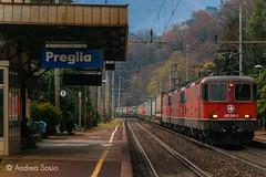 Re.420.349 SBBC (Andrea Sosio) Tags: re44 re420 349 11263 341 merci schweizerischebundesbahnen sbb cff ffs treno train preglia stazione sempione simplon piemonte italia nikond60 andreasosio