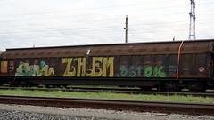 Graffiti in Graz 2015 (kami68k []) Tags: graz 2015 graffiti illegal bombing train freight funk shem ogtok transwaggon 74countrycode stwa