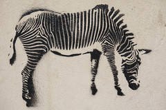 Mosko in Paris or River deep mountain high (Marco Braun) Tags: graffiti streetart walart zebra tier animal paris2016 black white schwarz noire weiss blanche paris francefrankreich