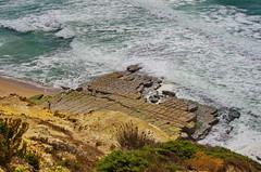 114 - Ericeira - Foz do Lizandro Portugal (paspog) Tags: ericeira portugal fozdolizandro ocan falaise mer vagues waves cliffs sea ocean