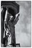 Exhortation (lucas2068) Tags: saint san vicente ferrer agustin church iglesia statue esculpture estatua escultura blackandwhite bw byn blancoynegro valencia españa spain