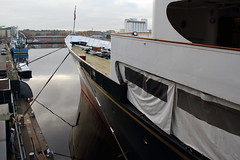 THE ROYAL YACHT BRITANNIA (Andrew Mansfield - Sheffield UK) Tags: royalyacht royalyachtbritannia britannia ship boat oceanterminal portofleith edinburgh scotland leith yacht